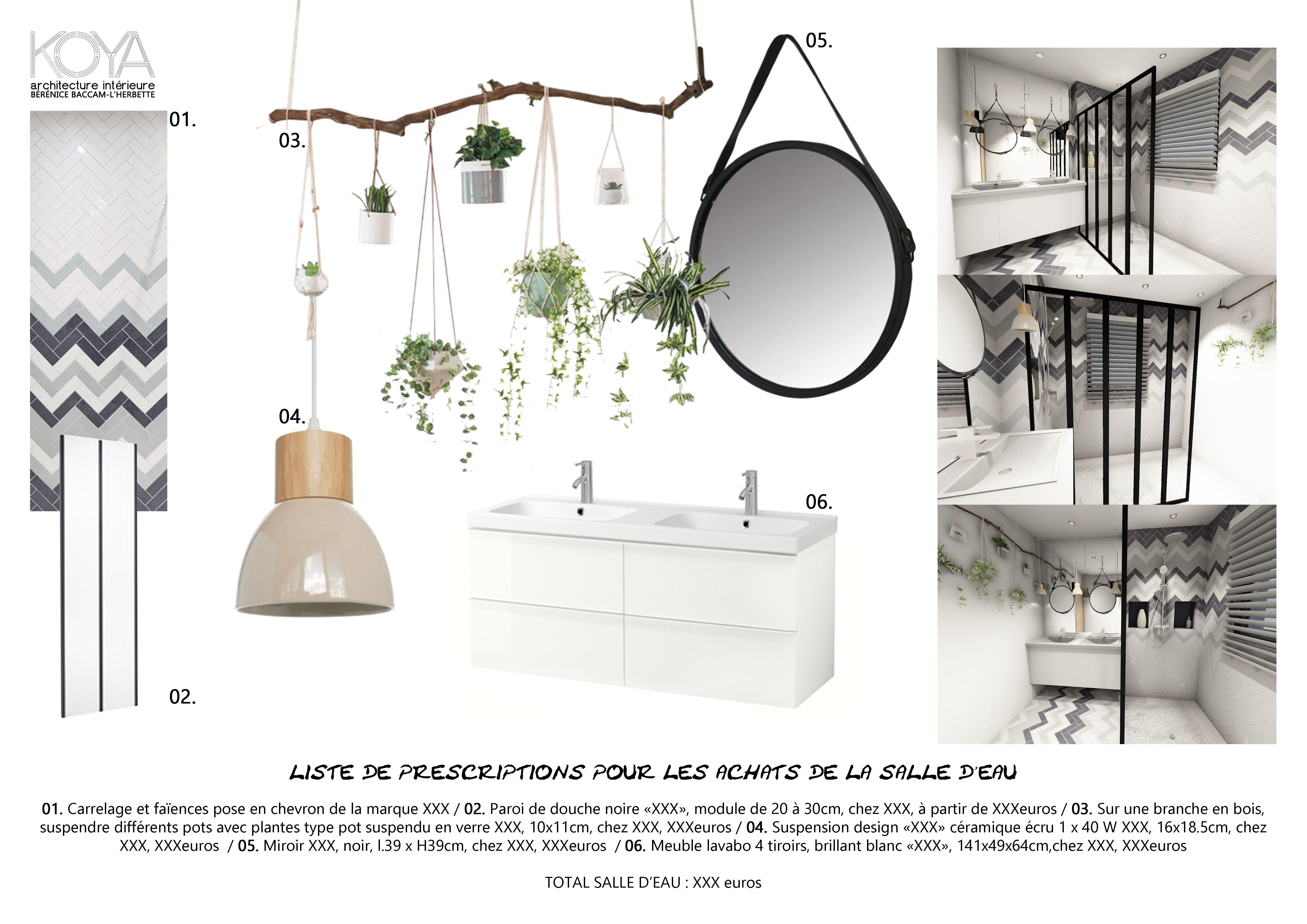 planche d coration shopping d 39 une salle de bain fa on hygge et scandinave un beau carrelage. Black Bedroom Furniture Sets. Home Design Ideas