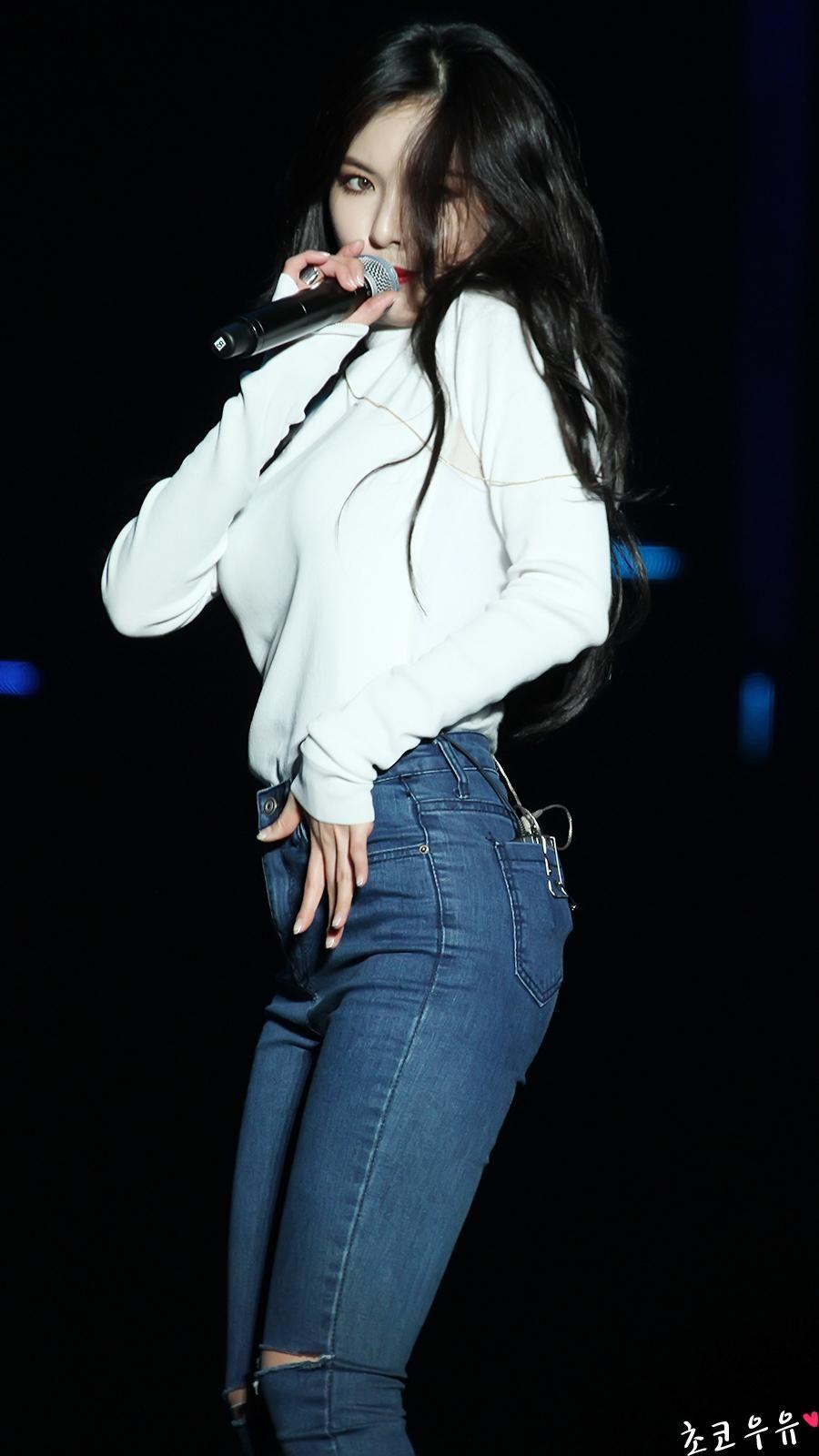 Kim Hyuna | Fashion, Girl body, Women's top