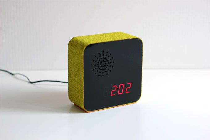 Take An Alarm Clock Cover It In Wool