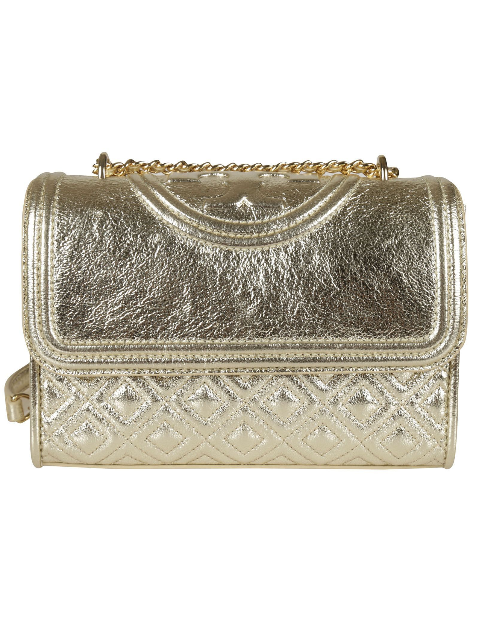 bd8de28507d GABRIELLE'S AMAZING FANTASY CLOSET | Small Fleming Convertible Shoulder Bag  from Tory Burch: Spark Gold Small Fleming Convertible Shoulder Bag with  Crinkled ...