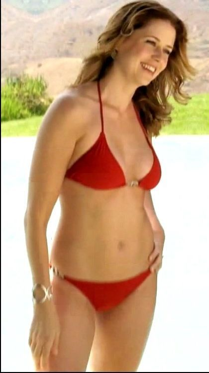 Jenna fischer looking hot and sexy