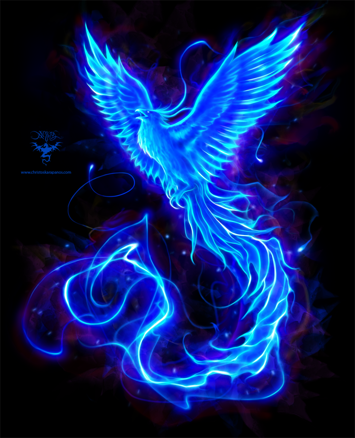 Blue Phoenix logo by christoskarapanos on DeviantArt
