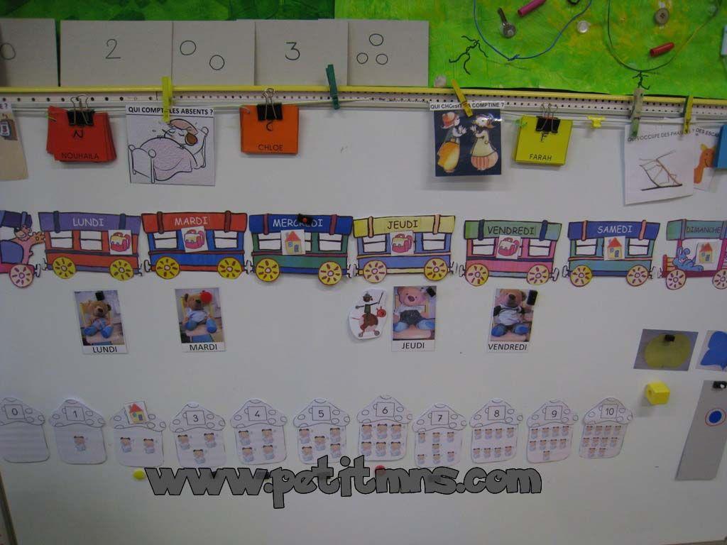 Calendrier Ps.Les Rituels Maternelle Maternelle Petite Section Et Rituels