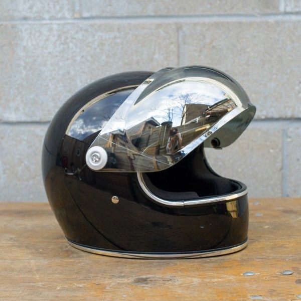 8e561092 Biltwell Bubble Shield - Tints & Mirrors | motogear | Retro helmet ...
