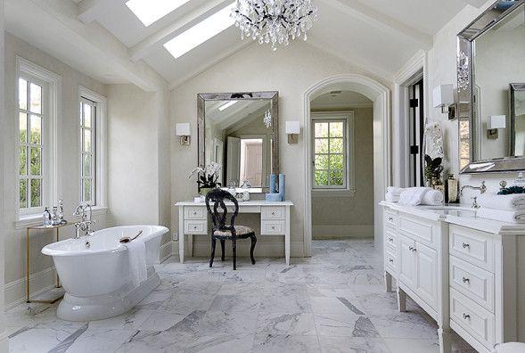 Celebrity Houses A Z Gorgeous Bathroom Designs