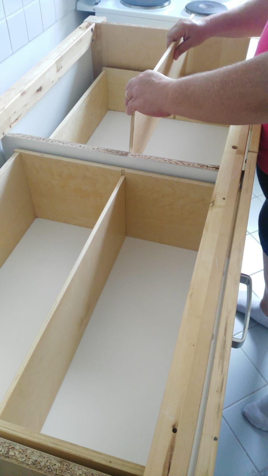 Schubladeneinsatze Ganz Einfach Selbst Bauen In 2020 Kuche