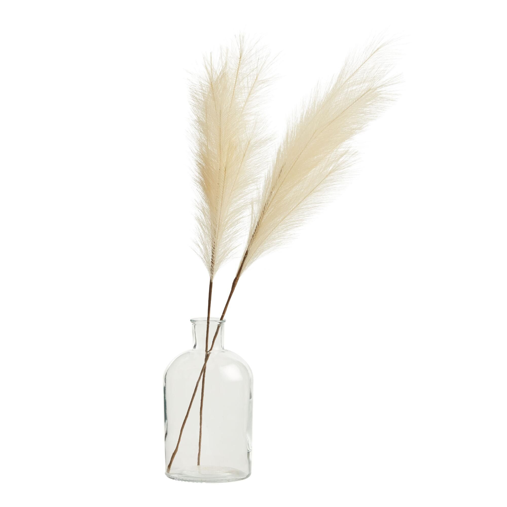 Faux Pampas Grass Stem V1 In 2020 Cost Plus World Market Pampas Grass Pampas Grass Decor
