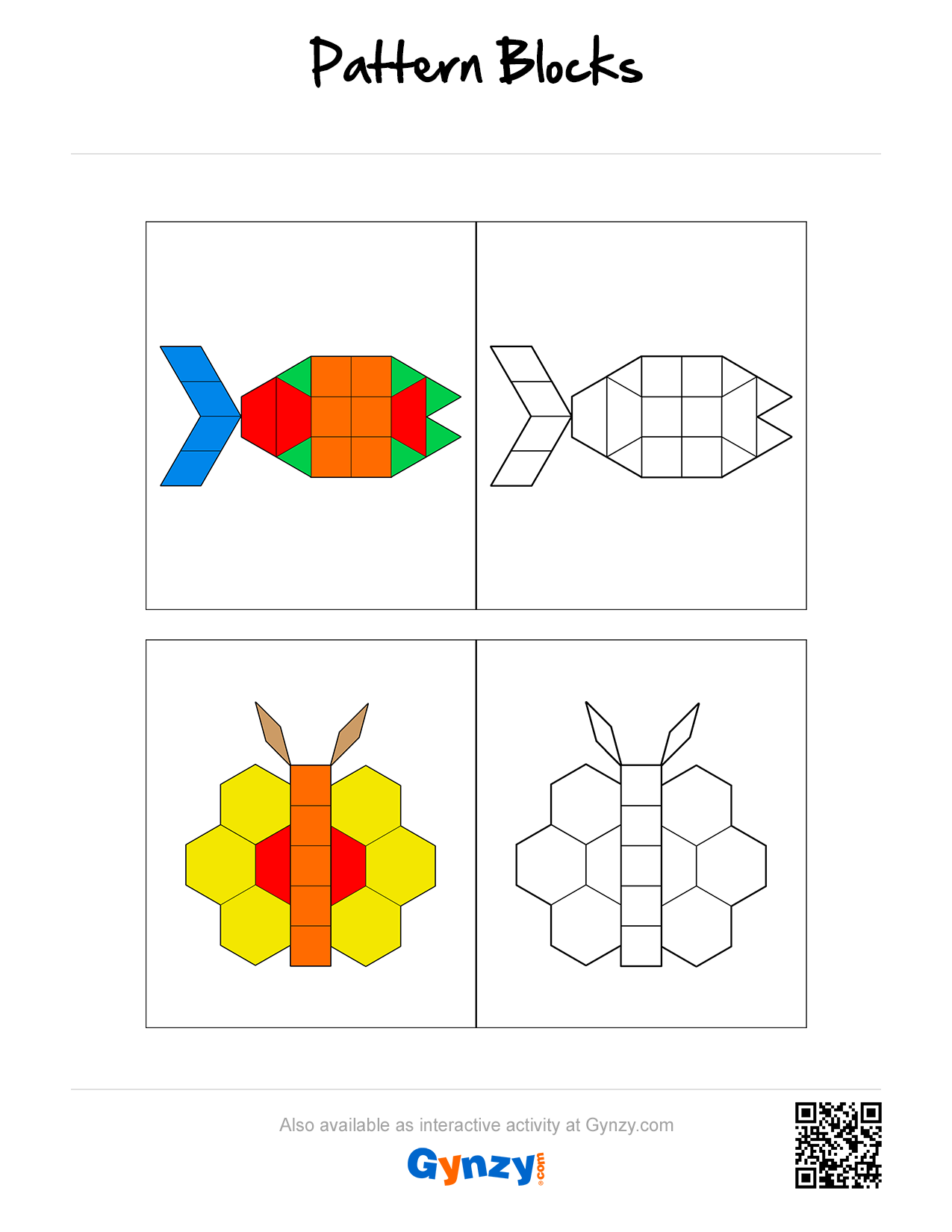 Pin By Teacher Timo On Pattern Blocks