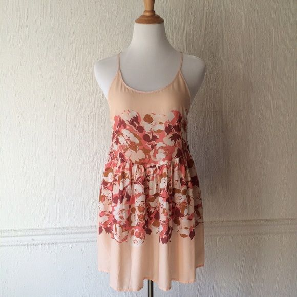 NWT Free People Floral Voile Slip Dress Brand new w tags. Comment for any questions! Size SMALL. Free People Dresses