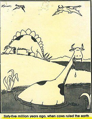 """The Far Side"" by Gary Larson."