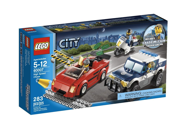Lego City Police High Speed Chase 60007 24 99 Lego City Police Lego City Lego City Sets