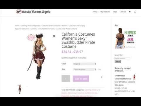 California Costumes Womens Sexy Swashbuckler Pirate Costume Review  sc 1 st  Pinterest & California Costumes Womens Sexy Swashbuckler Pirate Costume Review ...