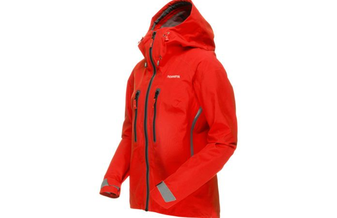 Norrona trollveggen climbing jacket Gore Tex for women