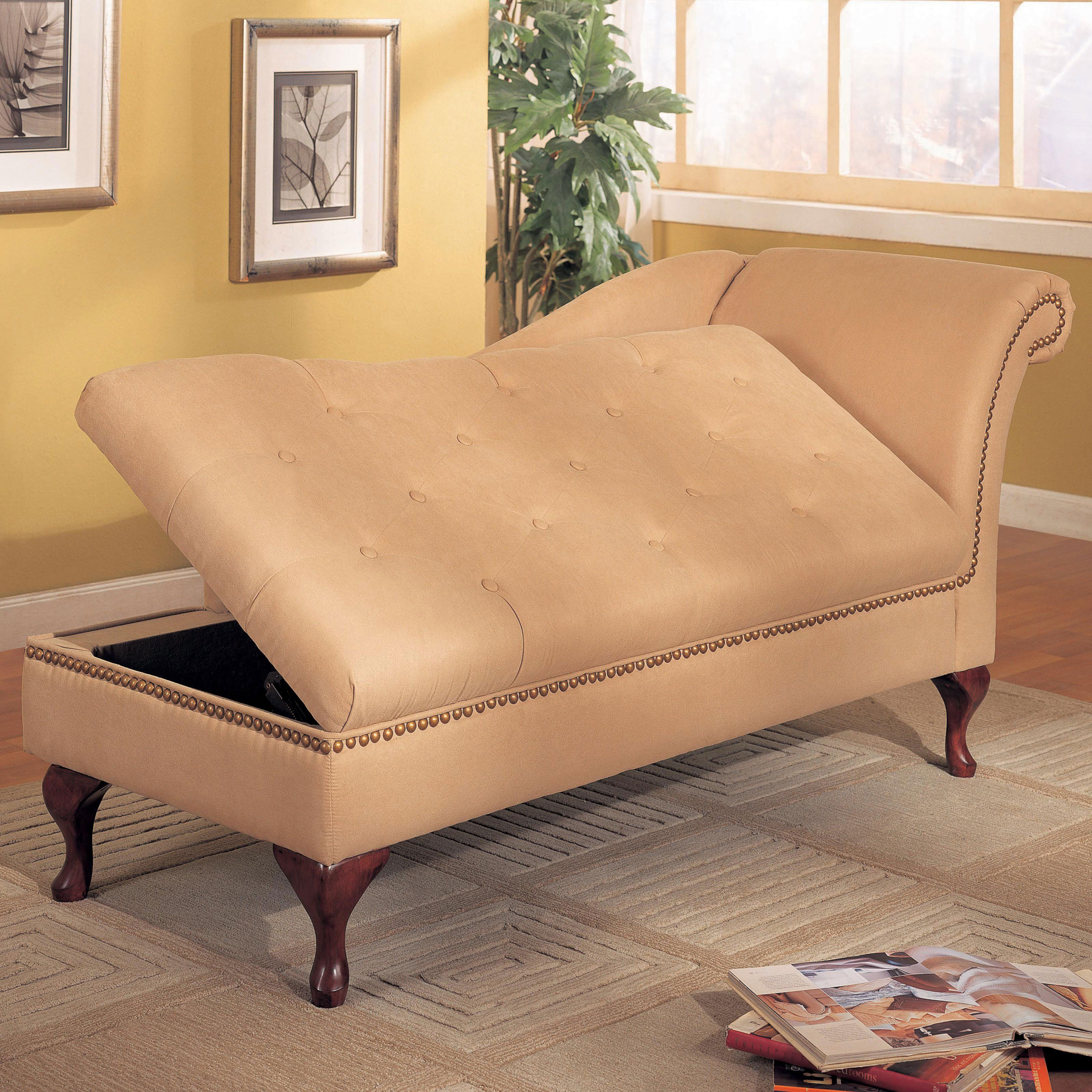 Groovy Delta Storage Chaise Lounge This Will Be In My House One Gmtry Best Dining Table And Chair Ideas Images Gmtryco
