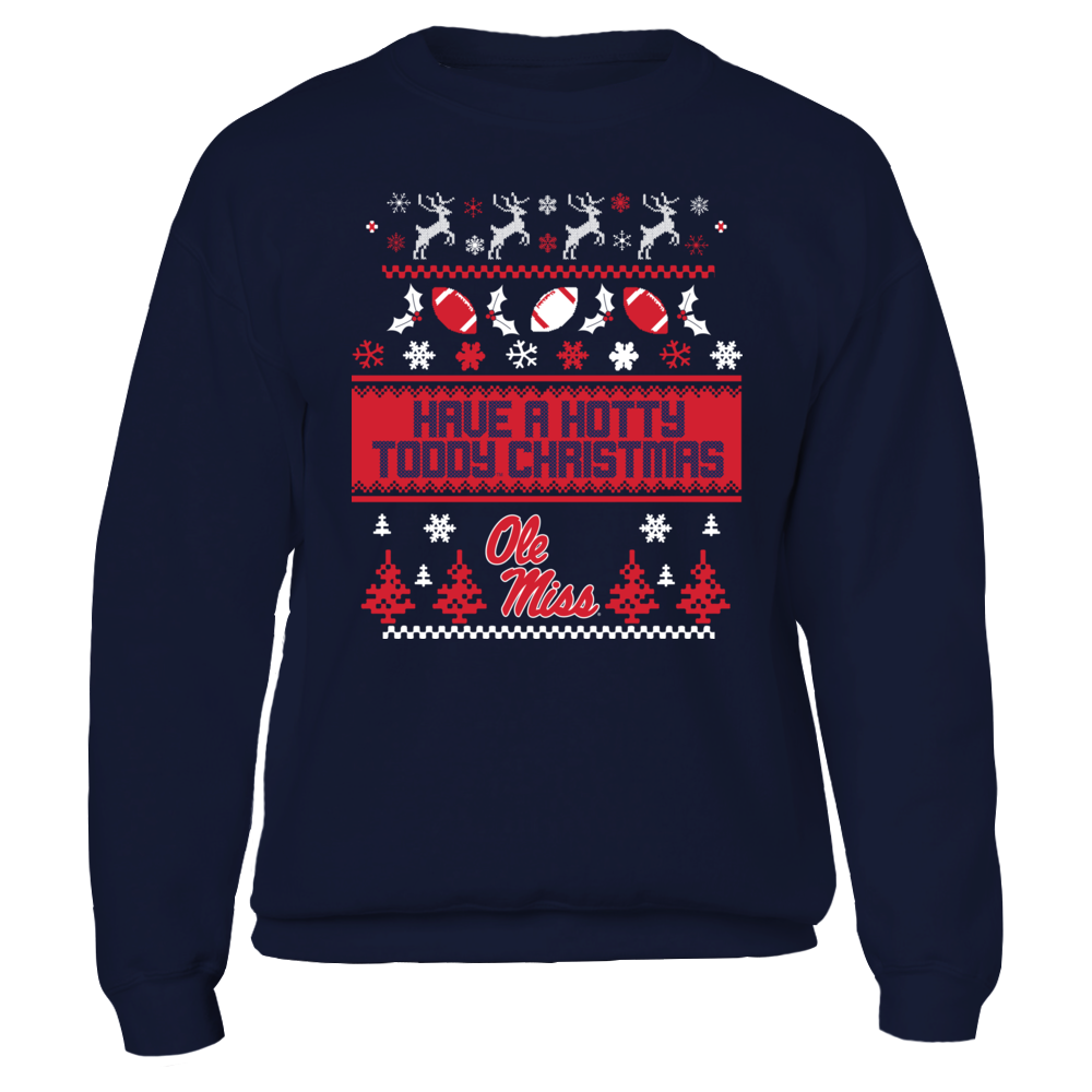Ugly Christmas Sweater Design Ole Miss Rebels Shirts Tshirts