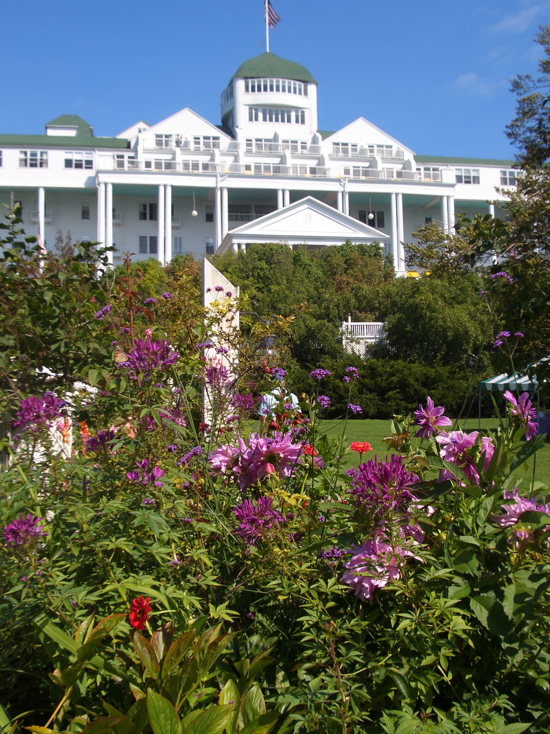 Grand Hotel, Mackinac Island, MI-- I Delibertly Went There