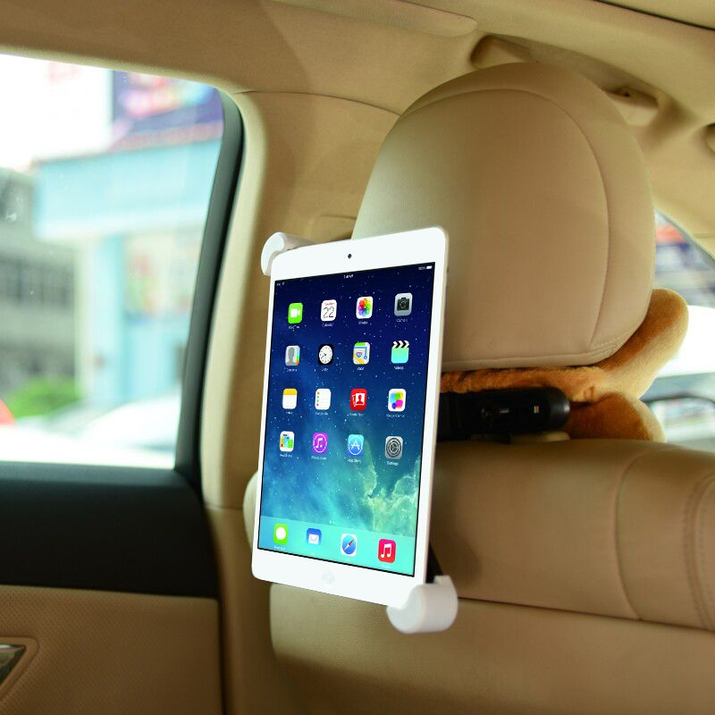 Moda carro de volta titular assento de carro tablet fique stents para ipad 2 3 4 5 6 mini 3 4 para samsung tab 2 3 4 kindle tablet titular carro