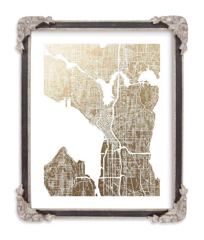 Seattle Map\