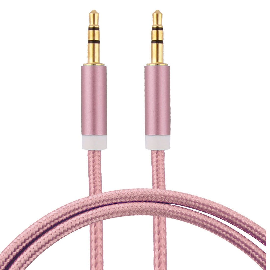 Click To Buy Uxcell Home Car Pc Computer Smartphone Nylon 35mm Puter Headphone Extension Cord Device On Wiring A Plug Directly From China Male Gold Suppliers Plate Audio Cable Connector Rose Tone Long