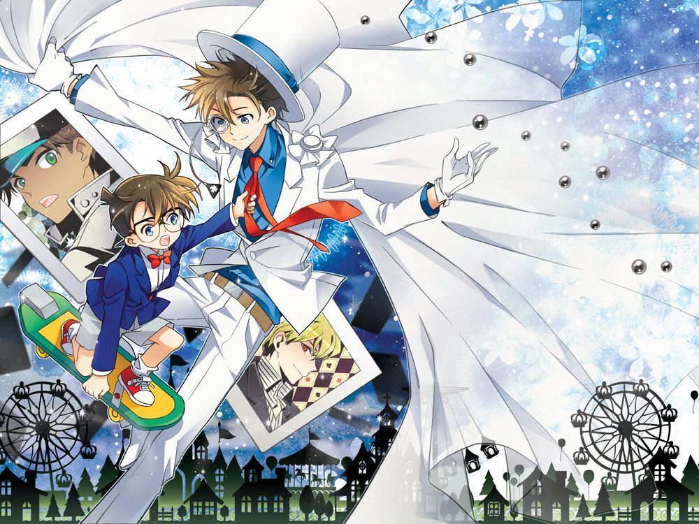 Detective Conan + Magic Kaito