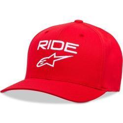 Alpinestars Ride 2.0 Kappe Weiss Rot L Xl Alpinestars