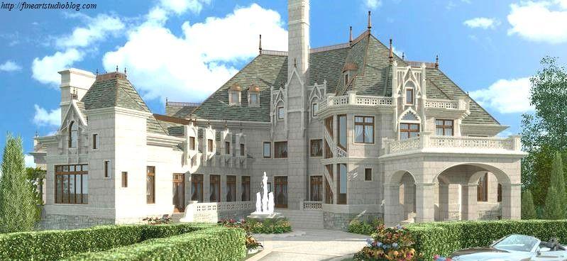 27 Surprising Castle Home Plans Design