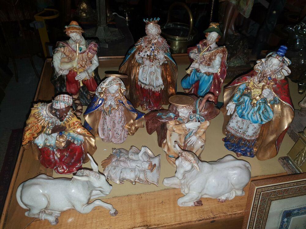 c8701899fda9 TOP 10 Terrakotta Krippenfiguren Eugenio Pattarino keramik figur ceramic  statue