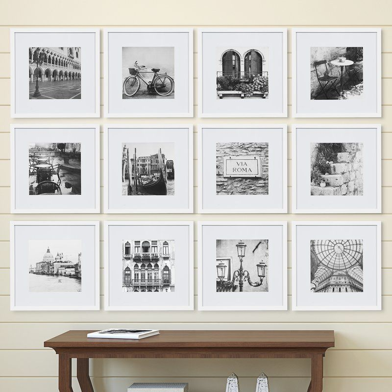 12 Piece Noland Matted Picture Frame Set With Images Gallery