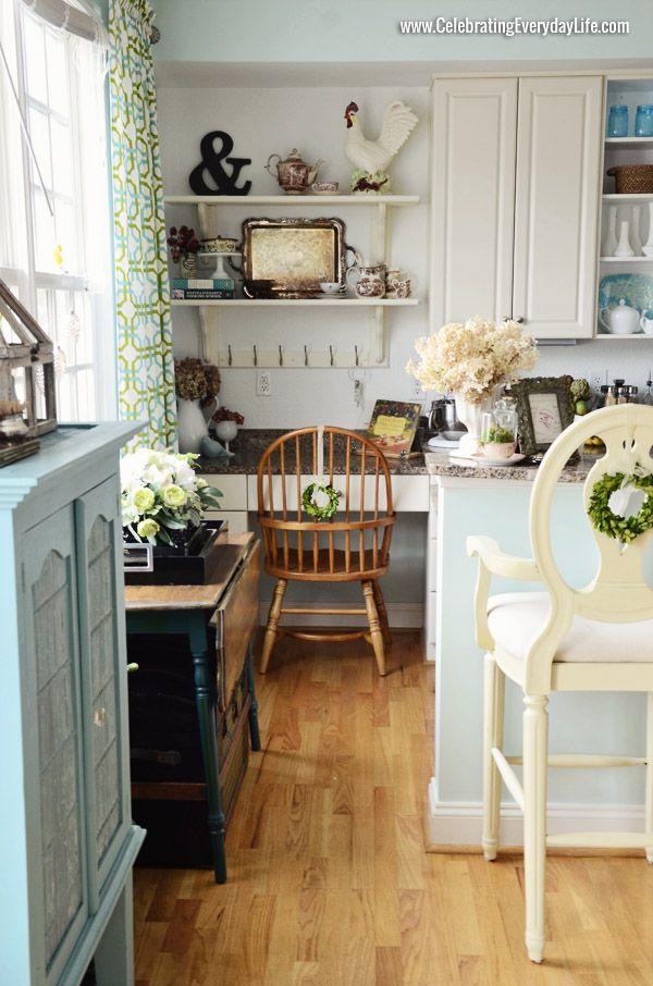My Budget Kitchen Makeover Pinterest Turquoise kitchen, Open