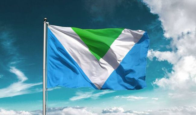 Israeli designer Gad V. Hakimi launched the international vegan flag to solidify the global movement toward compassion.