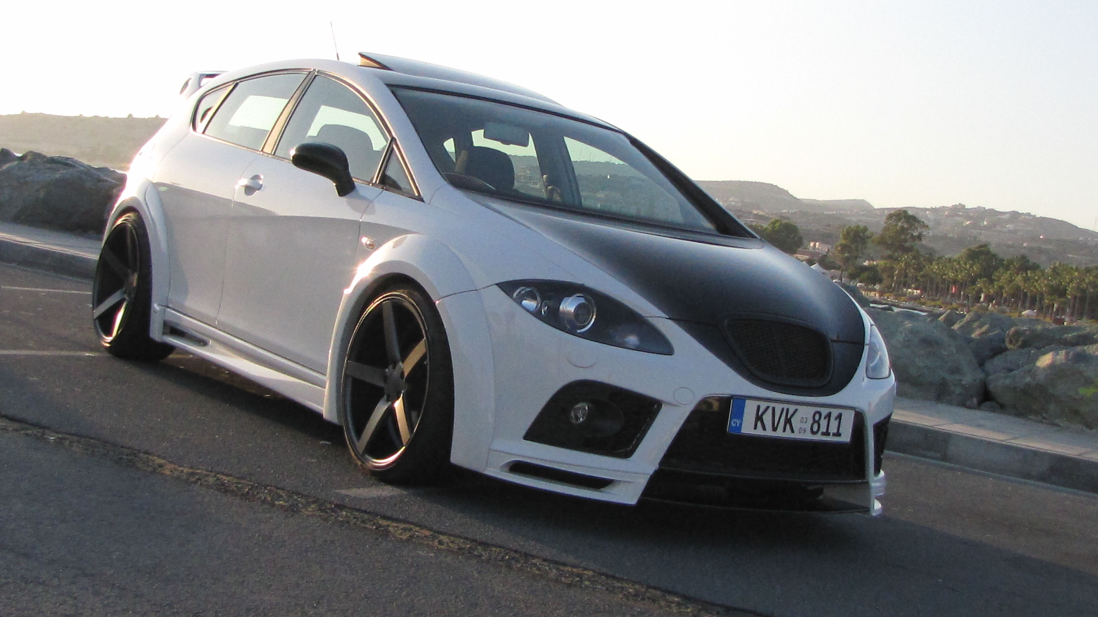 seat leon 1p vossen wheels cv3 customer submissions. Black Bedroom Furniture Sets. Home Design Ideas