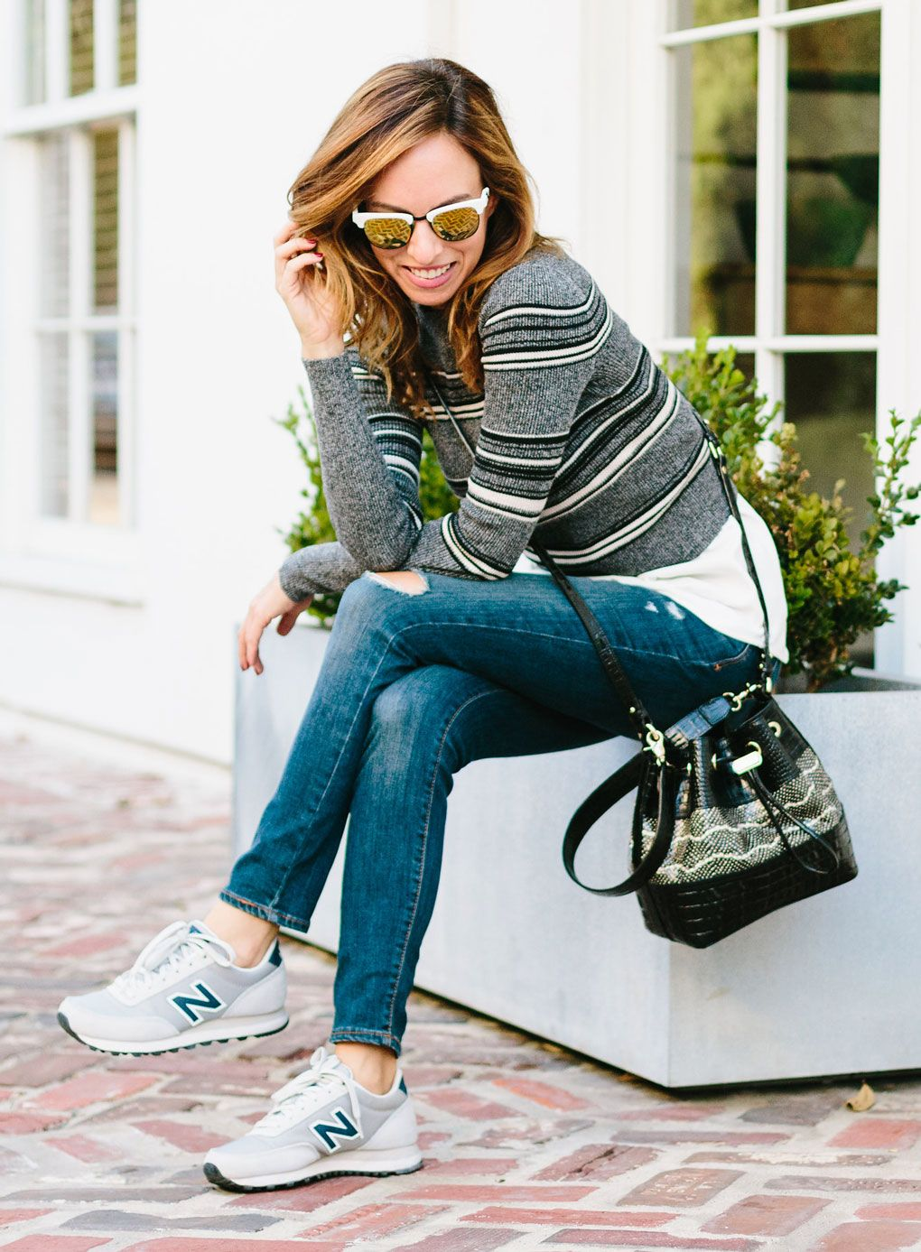92bc90a4e38 Sydne Style - How to Make Sneakers Look Cute