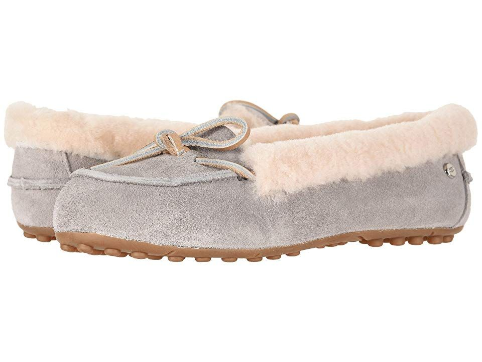 68c8b4017f8 UGG Solana Loafer (Seal) Women's Slip on Shoes. Slip into pure ...