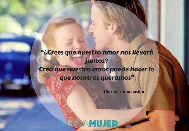 10 Frases Del Diario De Una Pasion Para Creer En El Amor Eterno