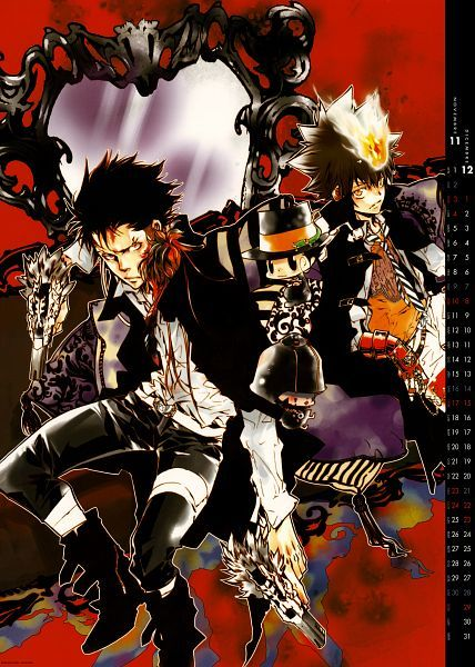 Xanxus Tsuna Reborn Marmon How Fitting The Two Separate