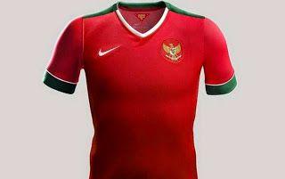 jual jersey bola grade ori murah: Jersey Timnas Indonesia Terbaru 2014