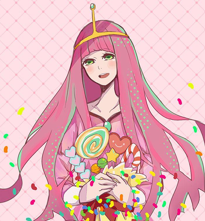 Princess Bubblegum is too sweet | Adventure time anime ...