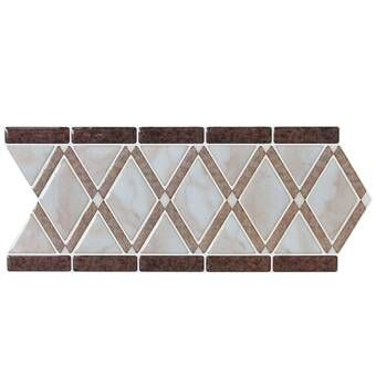 "12"" x 12"" Gel Peel & Stick Mosaic Tile Mosaic tiles"