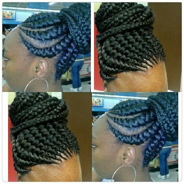 Instagram @beans_louis Ghanna Braids  http://instagram.com/p/iagHipgPEQ/