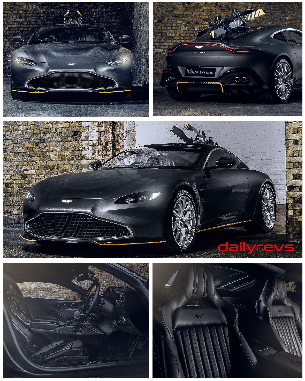 2020 Aston Martin Vantage 007 Edition By Q Dailyrevs Aston Martin Vantage Aston Martin Aston Martin Sports Car