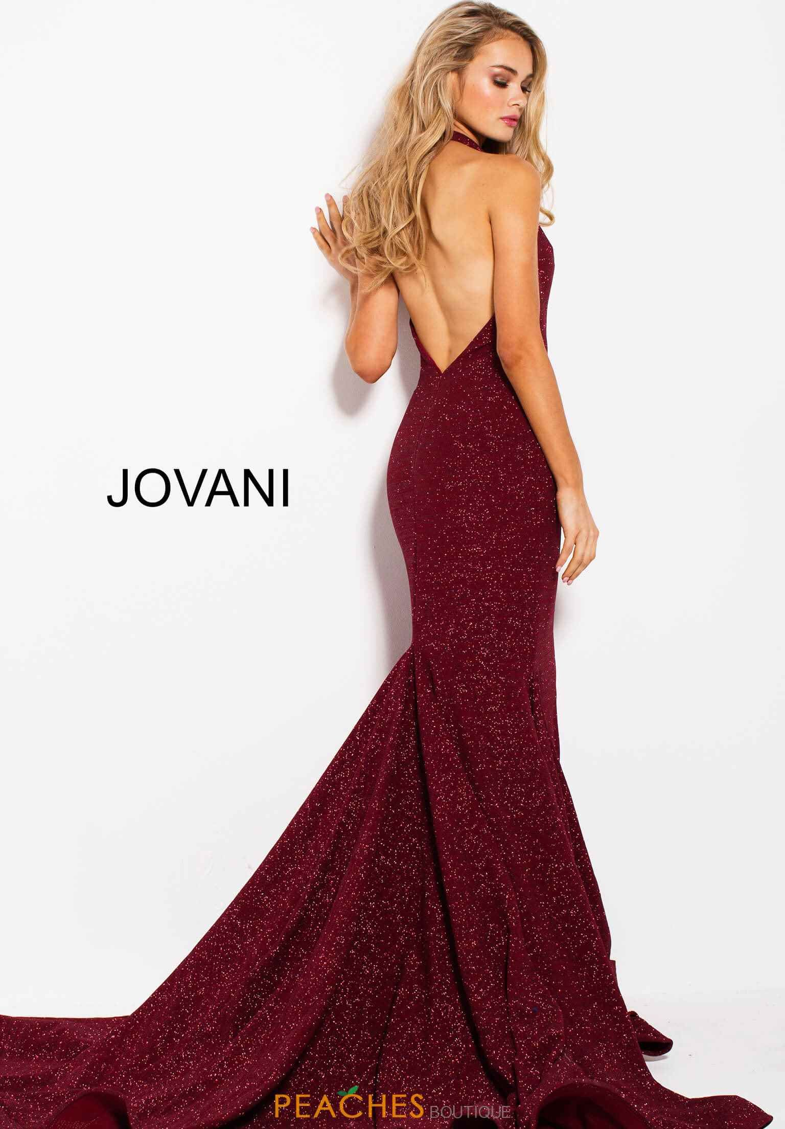 Jovani Open Back Fitted Dress 55414 | Prom Dresses 2018 | Pinterest