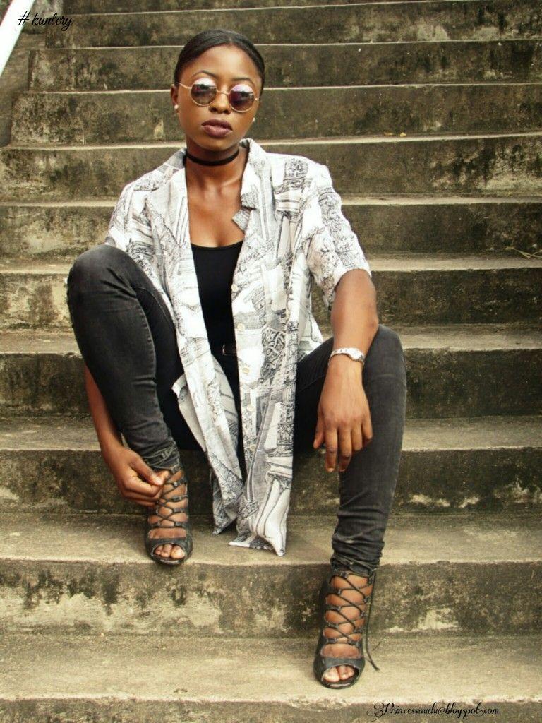 Journalist fashion blogger sarah audu journalist