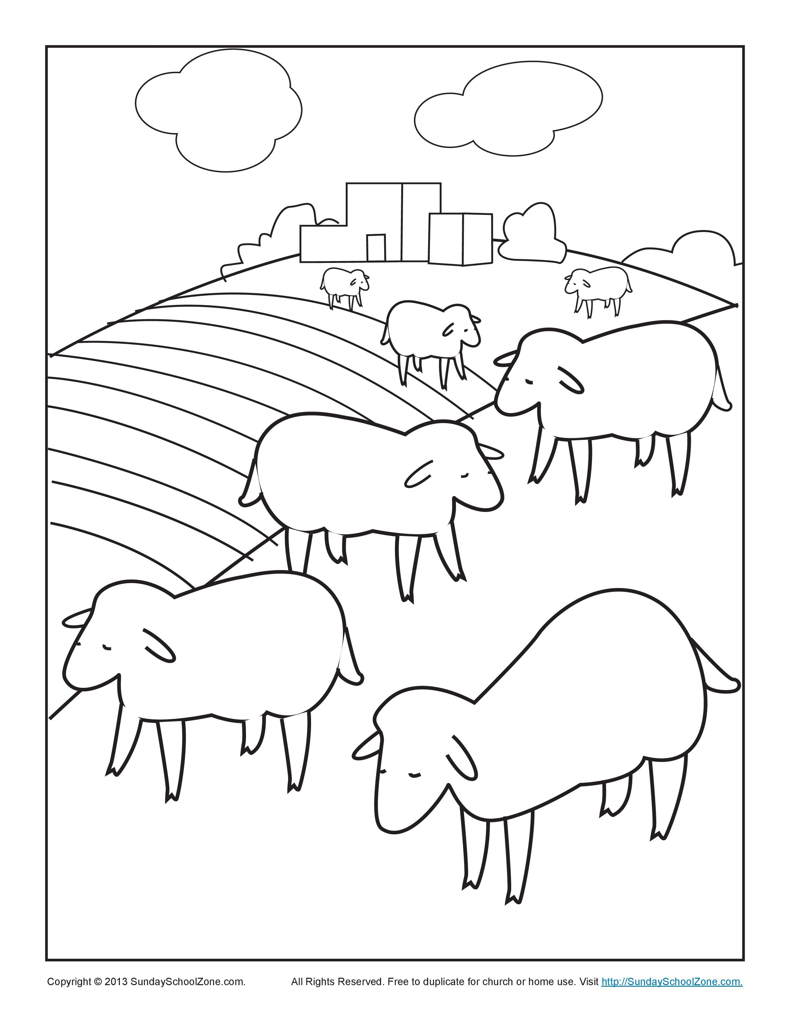 Bible Coloring Pages for Kids | Children\'s Bible Coloring Pages ...