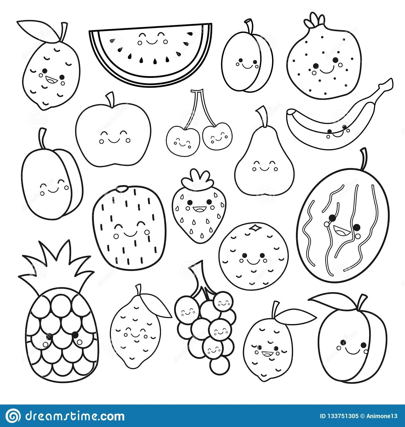 8 Printable Coloring Sheets Vegetables In