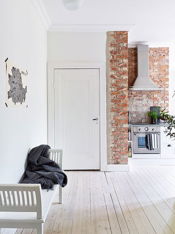 A Small Yet Light Apartment In Sweden