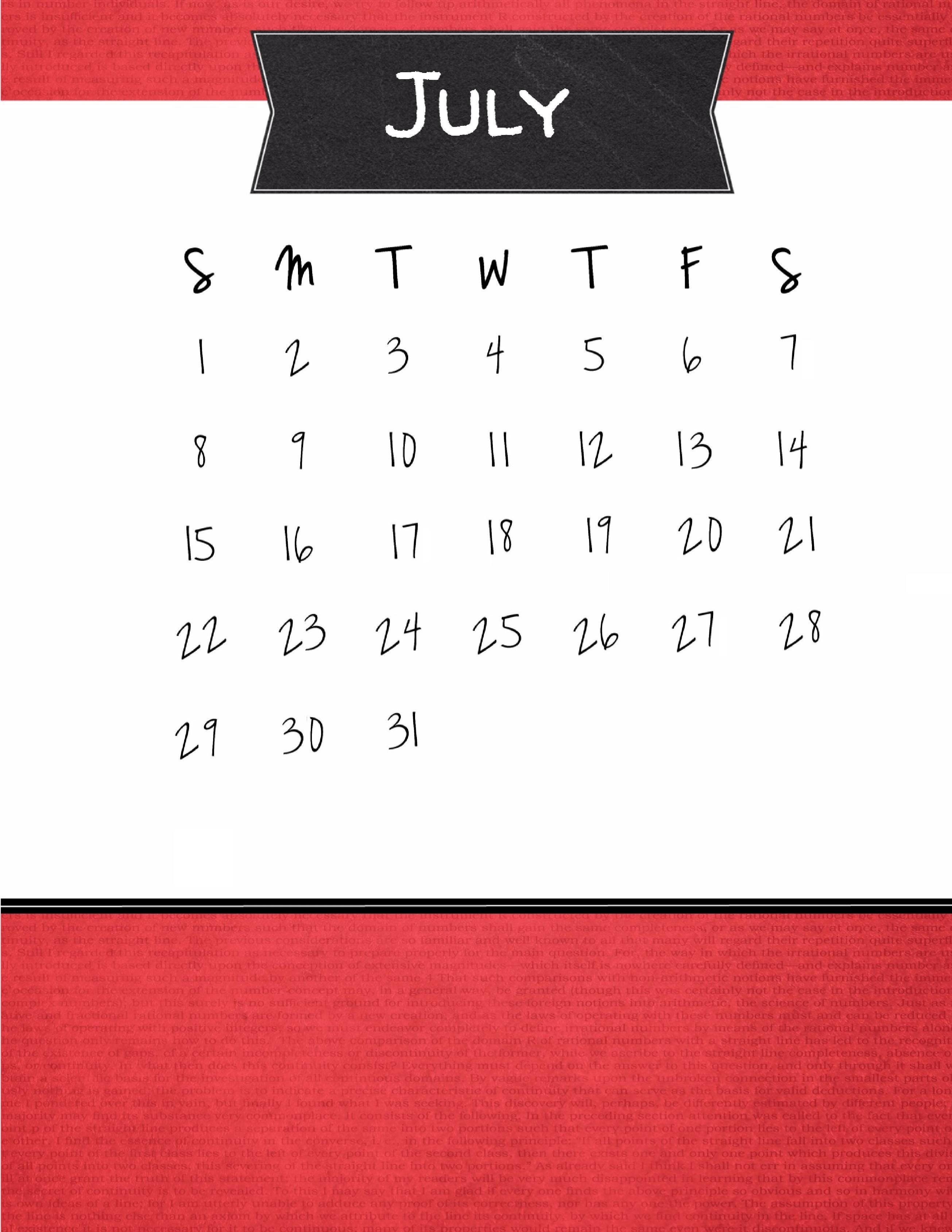 july 2018 online calendar maker maxcalendars pinterest