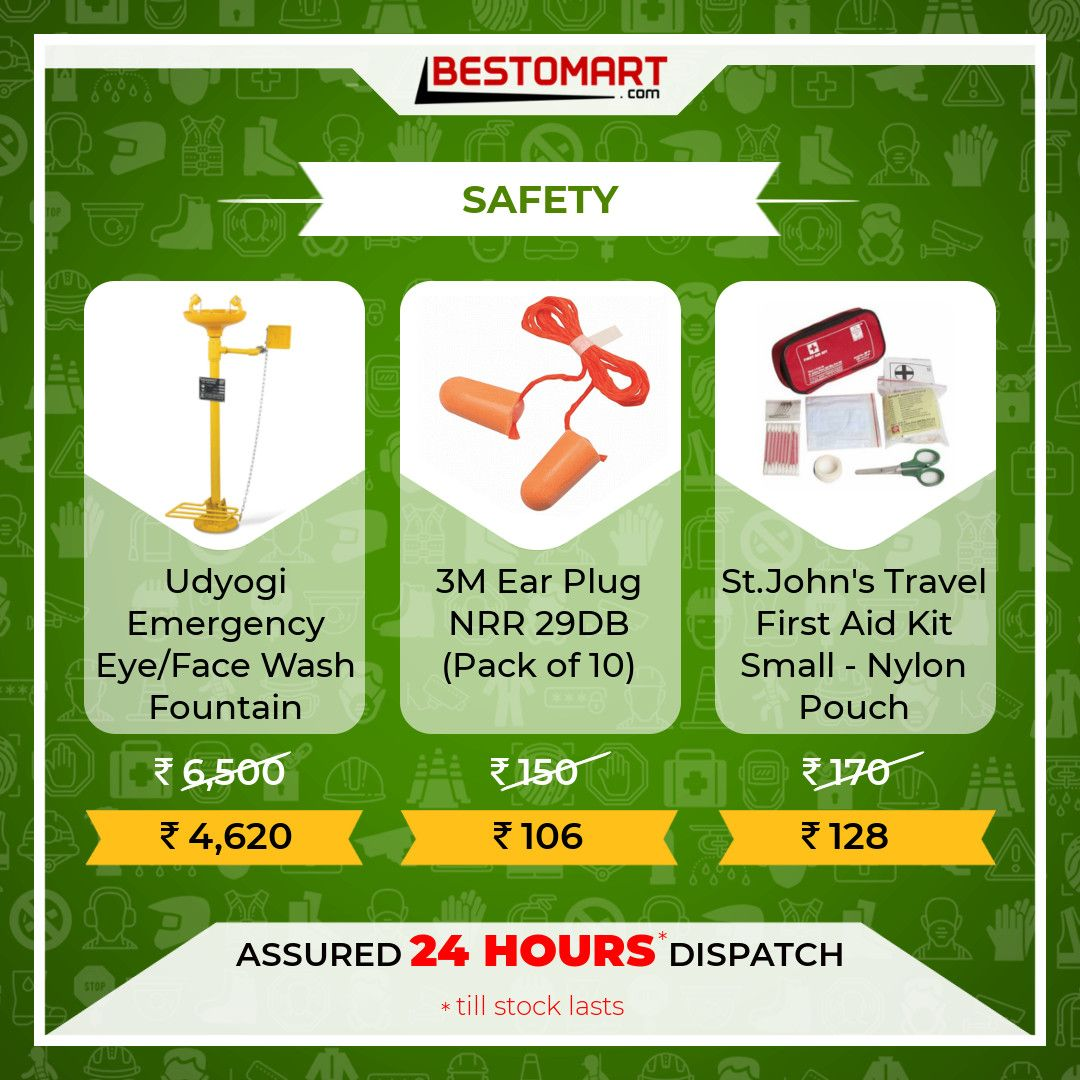 Grab More Discounts and Offers on Safety items with