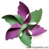 Step 5 Flower Pinwheel craft