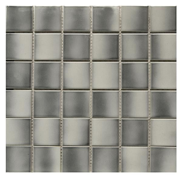 Multi Grey Ceramic Mosaic 12x12 Grey Ceramics Mosaic Ceramics