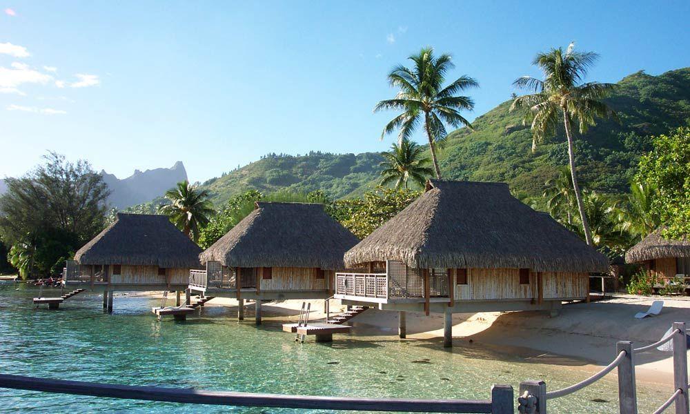 Hilton Moorea Lagoon Resort Spa Lagoon Bungalow
